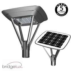 Solcell gatubelysning LED 20W MILAN SMD5050 240Lm / W