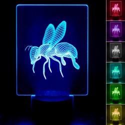 Table lamp - 3D RGB - BEE -