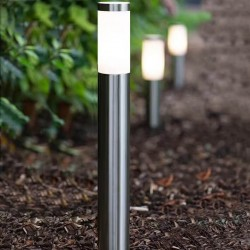 Bollard by LED E27 Stainless Steel Outdoor 60cm