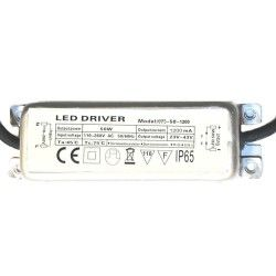 Driver for LED luminaire 50W 1200mA  - IP65