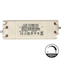 Driver DIMMABLE for LED Lightings 25W - 280mA