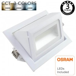 Downlight LED 40W  OSRAM Chip  SELECTABLE COLOR - CCT - 120º