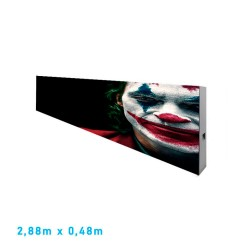 LED screen commercial display  Modular Pixel 5  RGB Full Color - 2 Modules