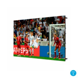 LED Screen Indoor Electronic LED Fixed Series Pixel 3 RGB Full Color 1.22 m2 (4 Modules + Control)