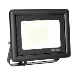 30W LED Outdoor Floodlight Black  ACTION IP65