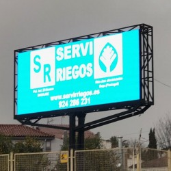 LED Screen  commercial display Outdoor Fixed Series Pixel 8 RGB Full Color 3.68m2 (4 modules)