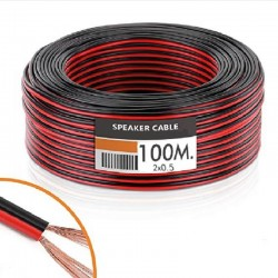 Audio Cable (LED Strip) 2x0.5mm 100 Meters