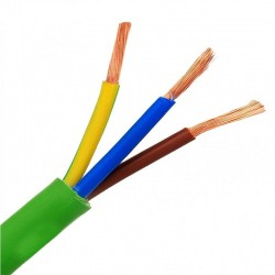 Electric hose (halogen free). CE approved commercial use  3x2.5mm 100Meters RZ1-K